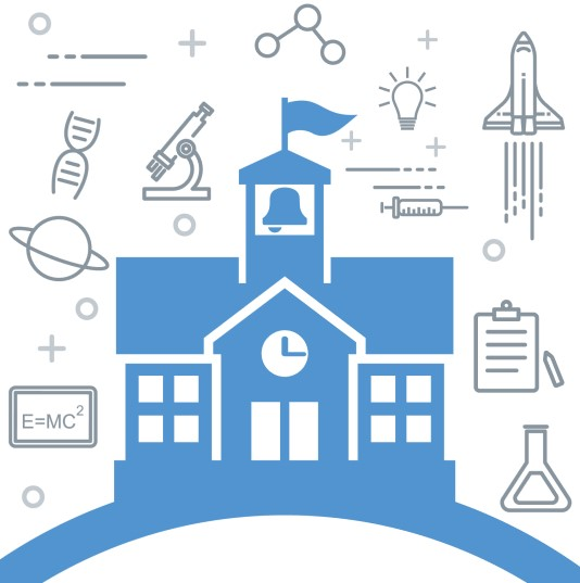 stem school logo